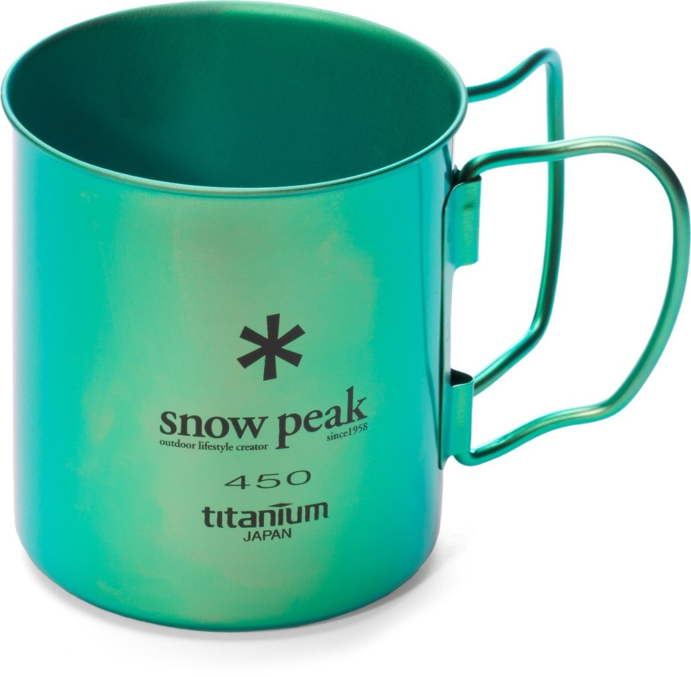 Snow Peak Ti-Single 450 Colored Cup