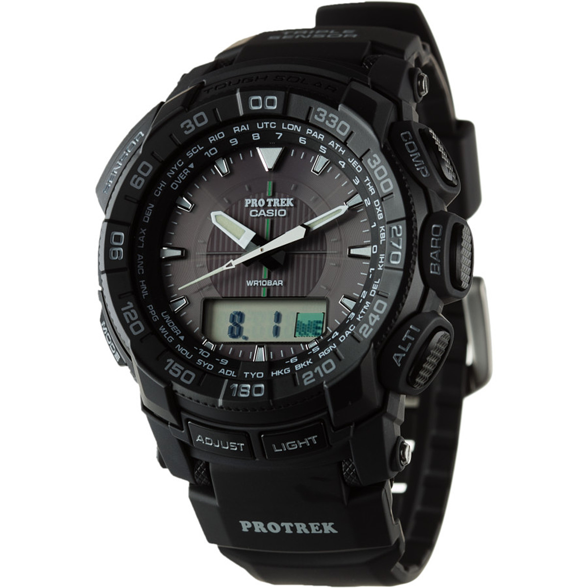 photo: Casio PRG550-1A1 compass watch