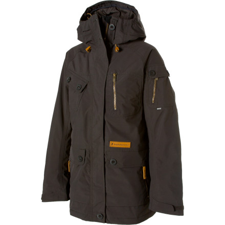 photo: Peak Performance Women's Rocker Jacket snowsport jacket
