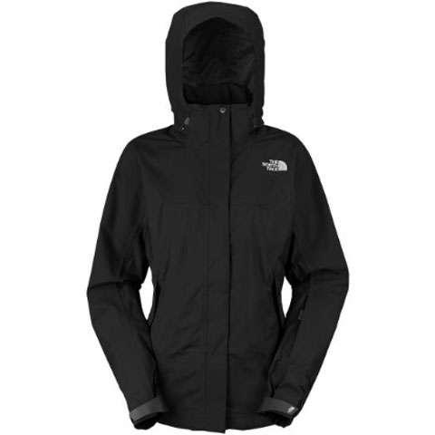 photo: The North Face Women's Mountain Light Parka waterproof jacket