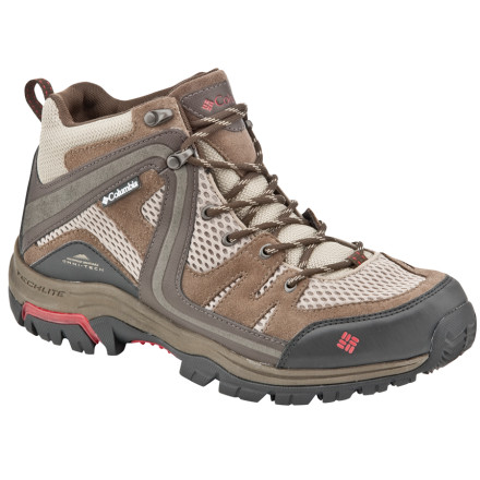 photo: Columbia Shastalavista Mid Omni-Tech hiking boot