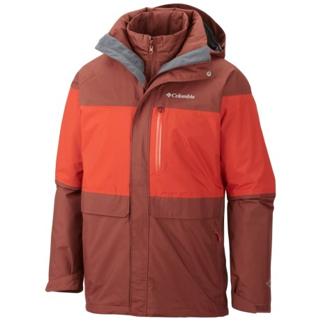 Columbia Portland Explorer Long Interchange Jacket