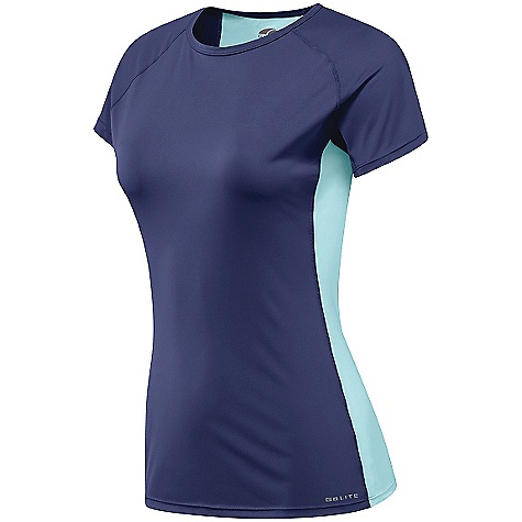 photo: GoLite Women's Wildwood Trail Shortsleeve Run Top short sleeve performance top