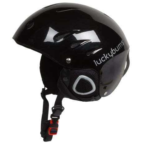 photo: Lucky Bums Ski and Snowboard Helmet with Fleece Liner snowsport helmet