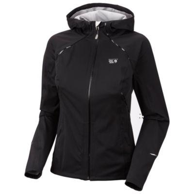 photo: Mountain Hardwear Women's Effusion Hooded Jacket soft shell jacket