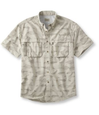 L.L.Bean Tropicwear Shirt, Short-Sleeve