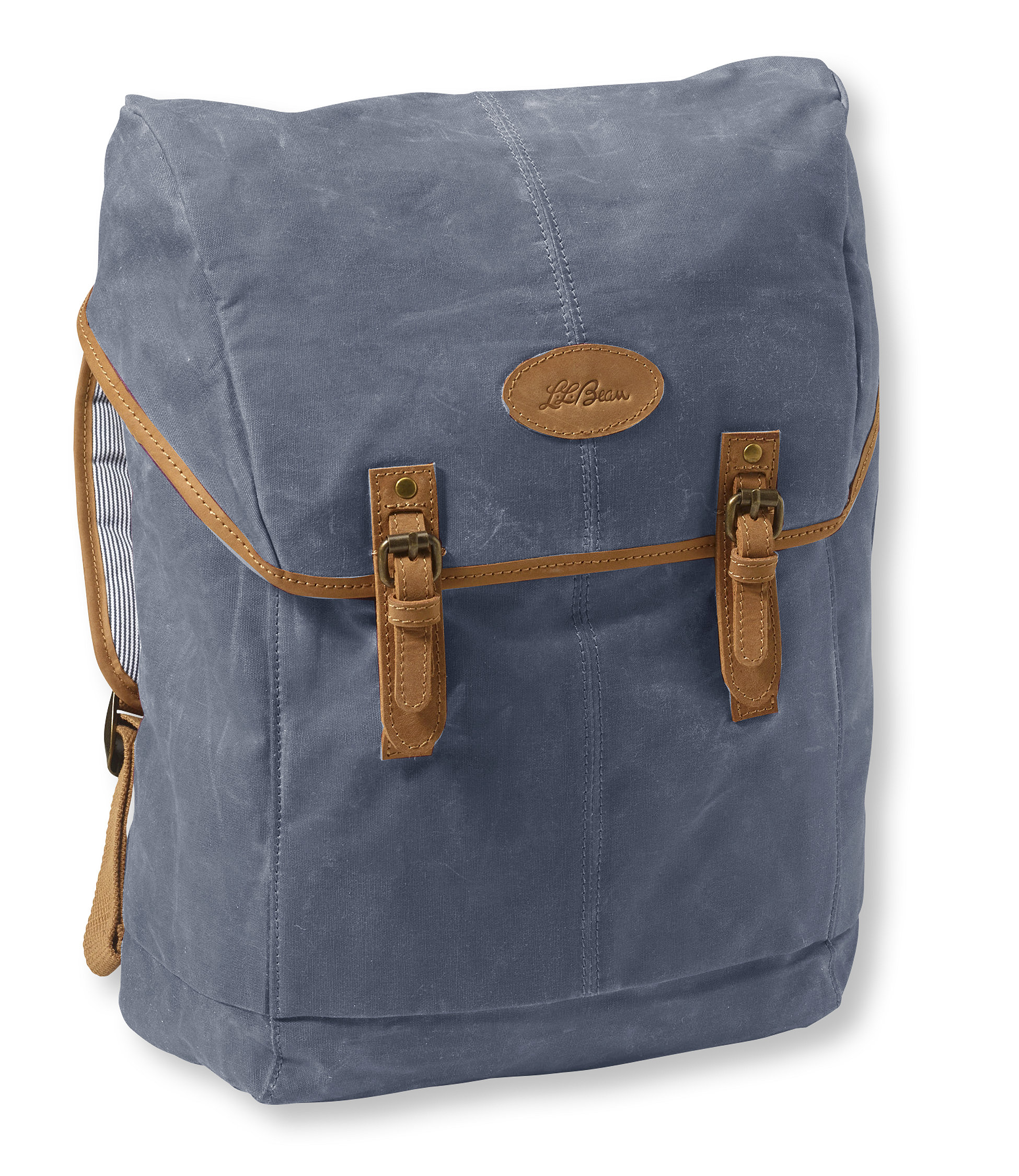 L.L.Bean Mountain Town Waxed Canvas Backpack