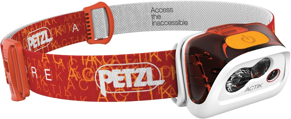 photo: Petzl Actik Core headlamp