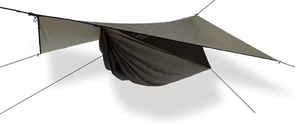 photo: Hennessy Hammock Ultralight Backpacker Asym hammock