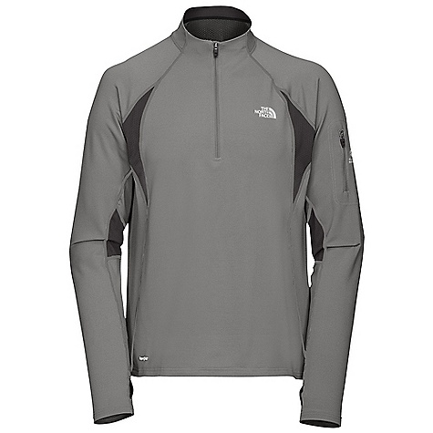 photo: The North Face Men's Impulse 1/4 Zip long sleeve performance top