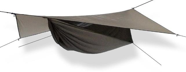 photo: Hennessy Hammock Explorer Ultralight Asym Zip hammock
