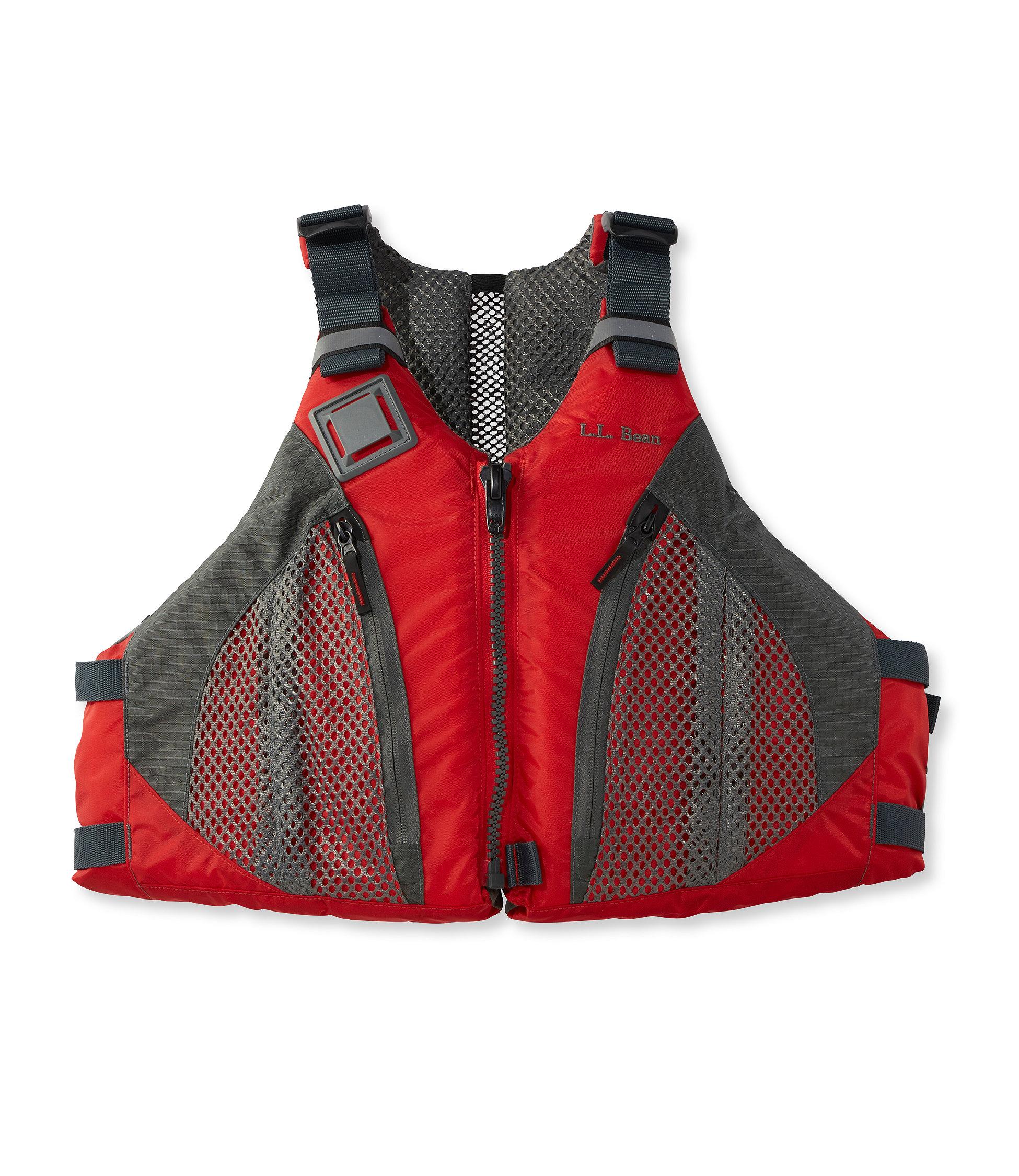 photo: L.L.Bean Comfort Back PFD life jacket/pfd