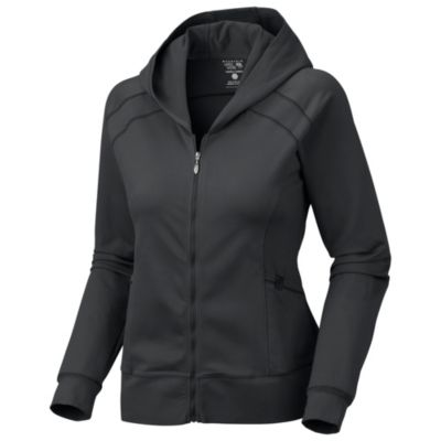photo: Mountain Hardwear Roga Butter Hoody long sleeve performance top