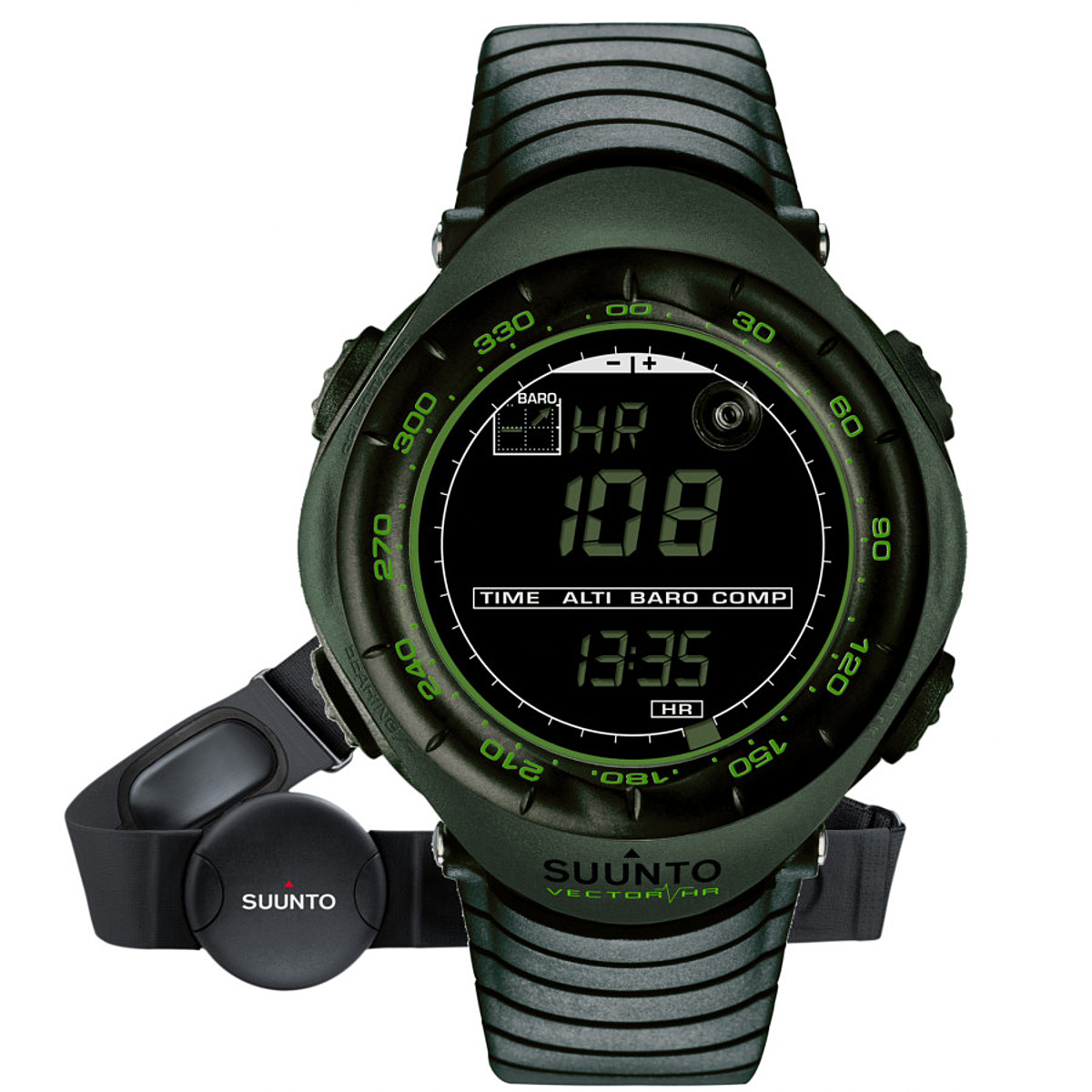 photo: Suunto Vector HR heart rate monitor