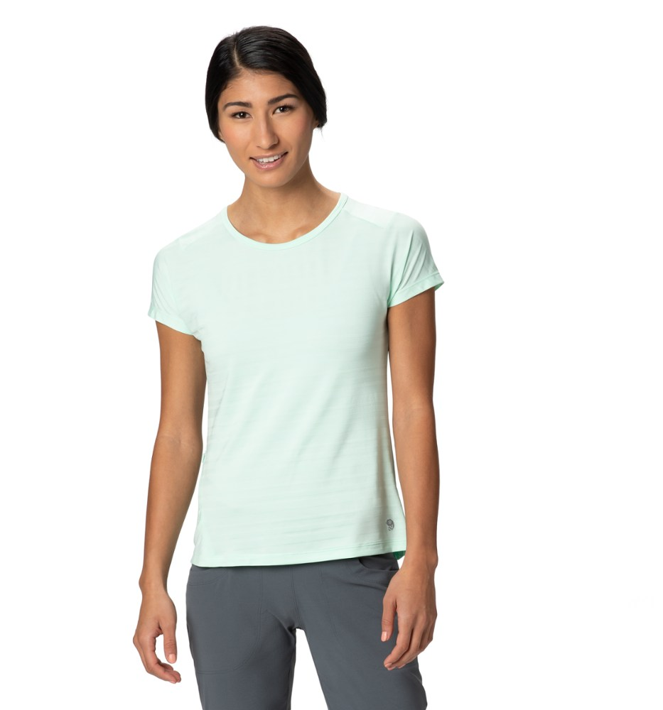 photo: Mountain Hardwear Mighty Stripe Short Sleeve T short sleeve performance top