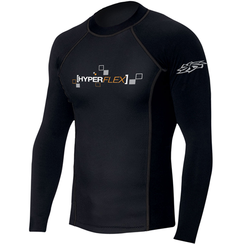 HyperFlex Polyolefin 50/50 1.5mm Long Sleeve Rashguard