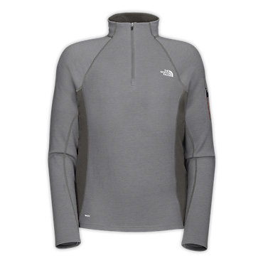 photo: The North Face Men's Aries 1/4 Zip long sleeve performance top