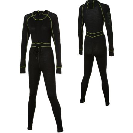photo of a ioMerino one-piece base layer