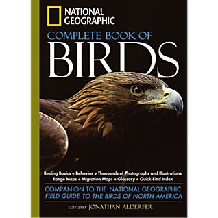 photo: National Geographic Complete Book of Birds - North America plant/animal identification guide