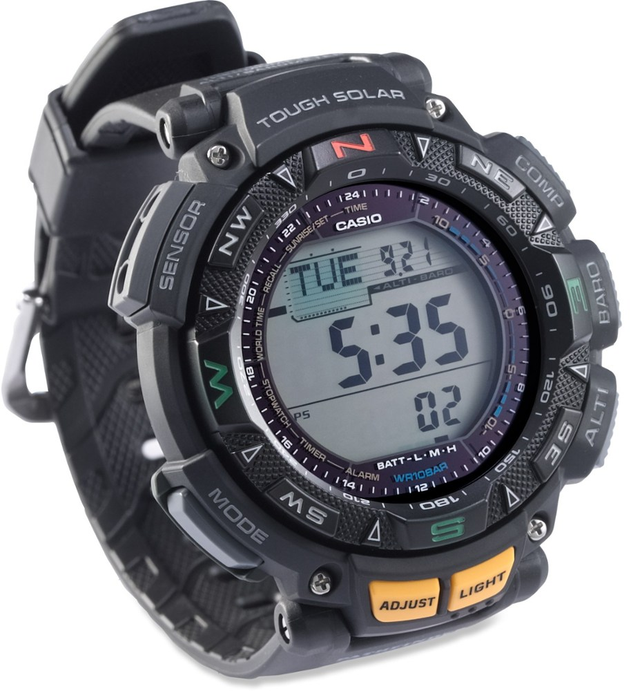 photo: Casio PAG240-1 compass watch
