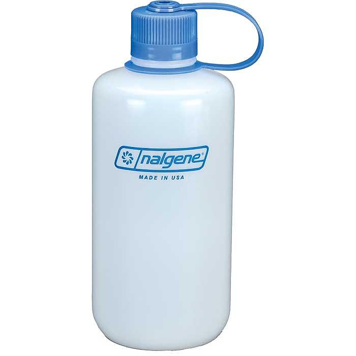 photo: Nalgene 32 oz Narrow Mouth HDPE water bottle
