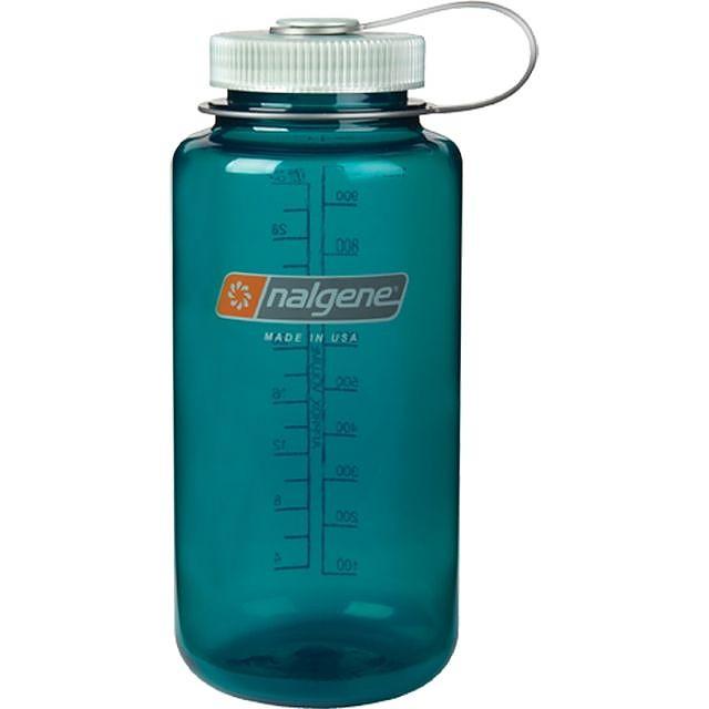 photo: Nalgene 32 oz Wide Mouth Glow water bottle