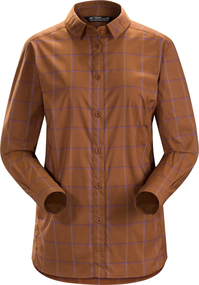 photo: Arc'teryx Women's Riel Shirt LS hiking shirt