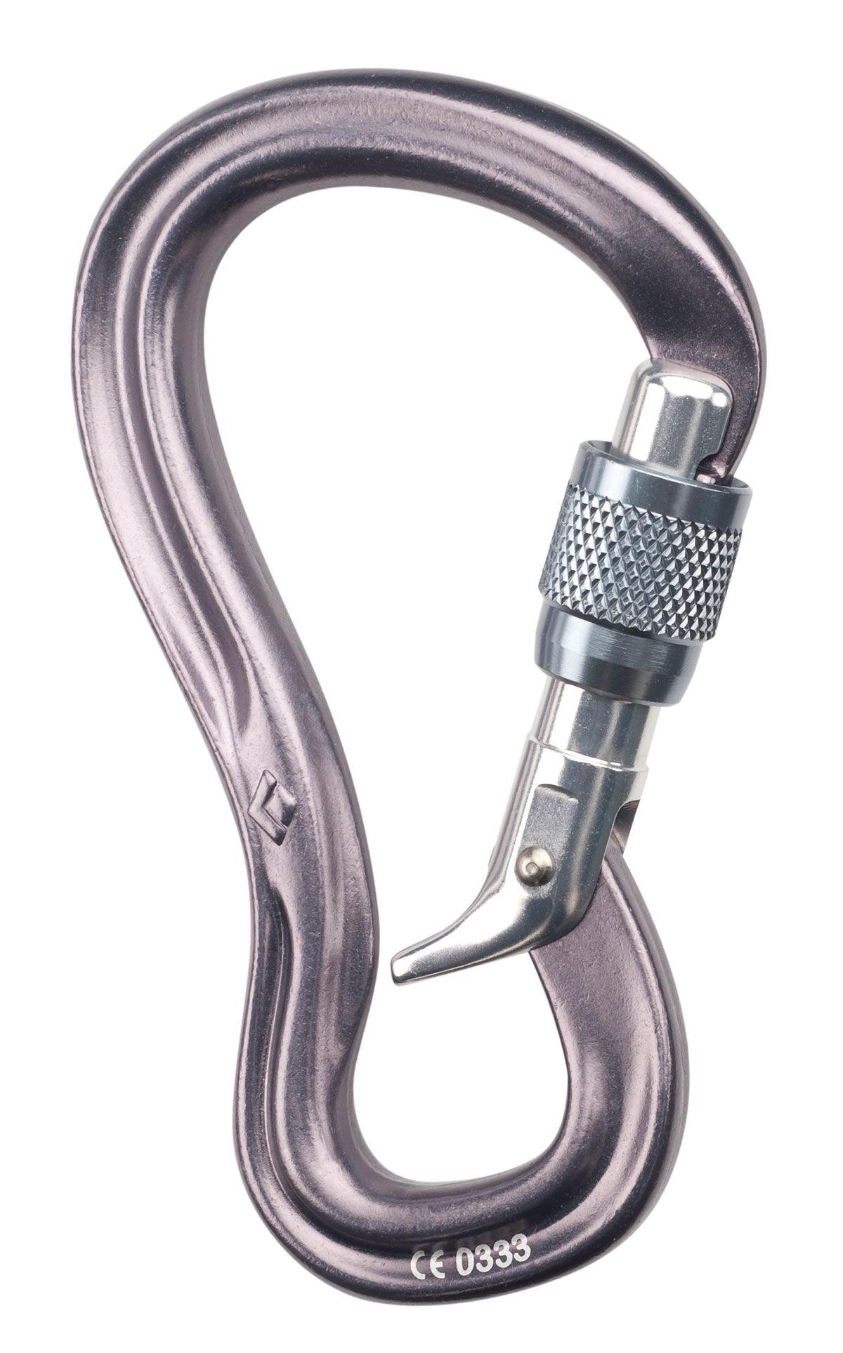 photo: Black Diamond GridLock Screwgate locking carabiner