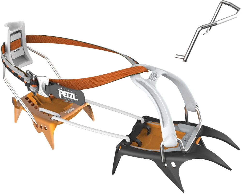 photo: Petzl Irvis Hybrid crampon