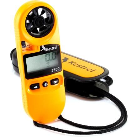 photo: Kestrel 2500 weather instrument