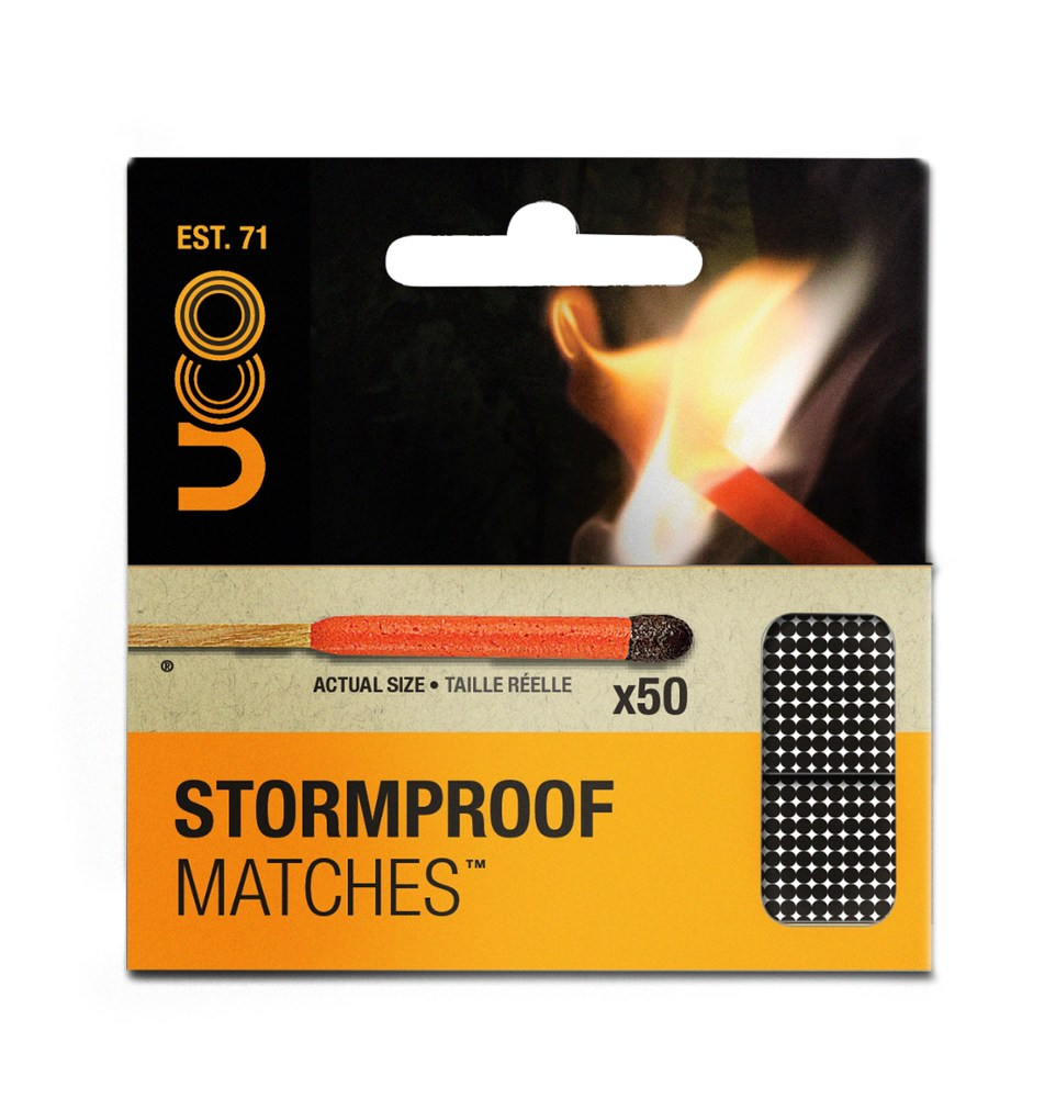 photo: UCO Stormproof Matches fire starter
