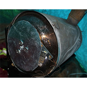 photo: DIY: Collapsible Cylinder Wood Stove solid fuel stove