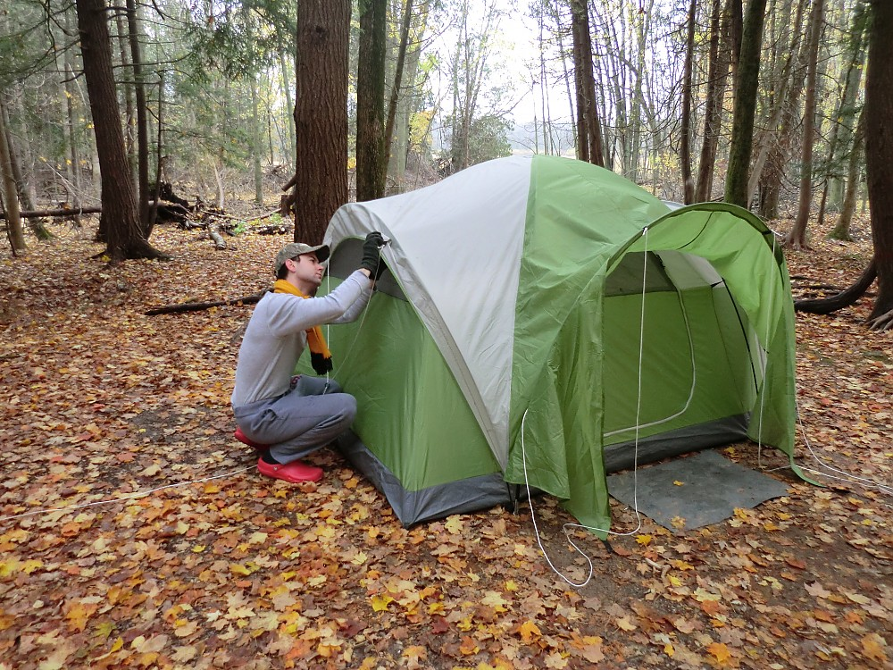 photo: Coleman Montana 4 tent/shelter