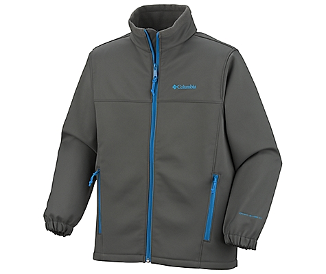 photo: Columbia Ascender Junior Softshell soft shell jacket