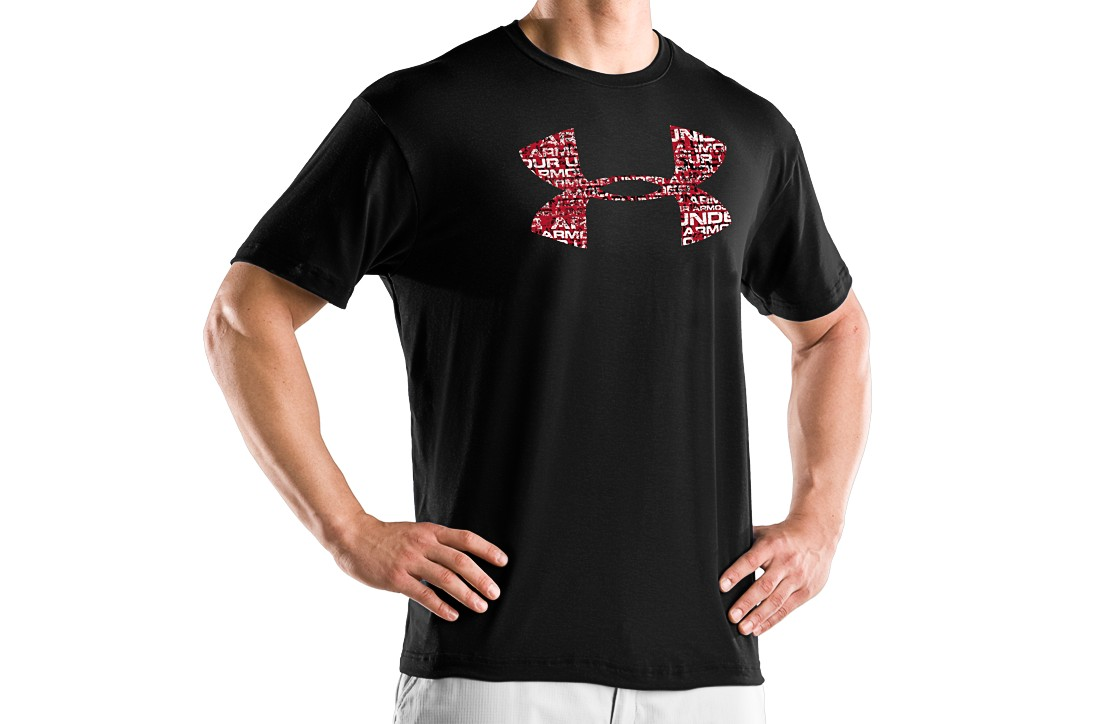 Under Armour Distressed Logo T Shirt