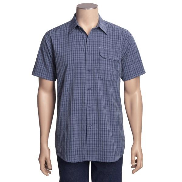 photo: Hi-Tec Checkerboard Mesa Plaid S/S Shirt hiking shirt