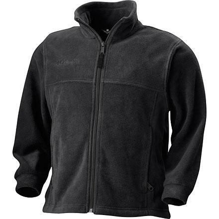 photo: Columbia Boys' Steens Mountain Full Zip fleece jacket
