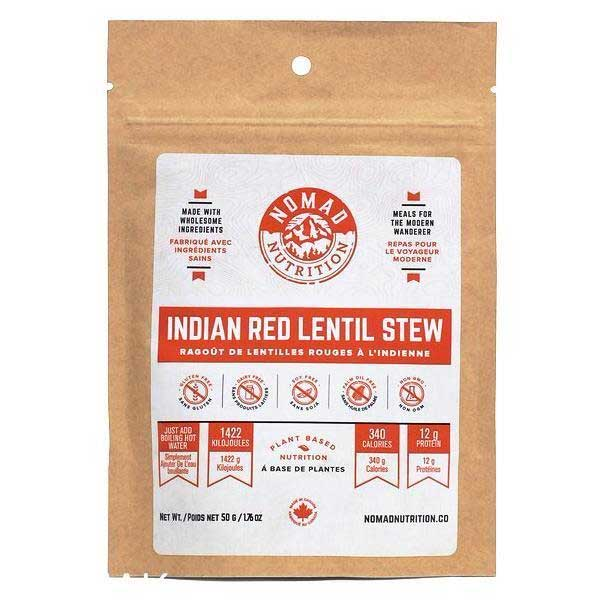 photo: Nomad Nutrition Indian Red Lentil Stew vegetarian entrée