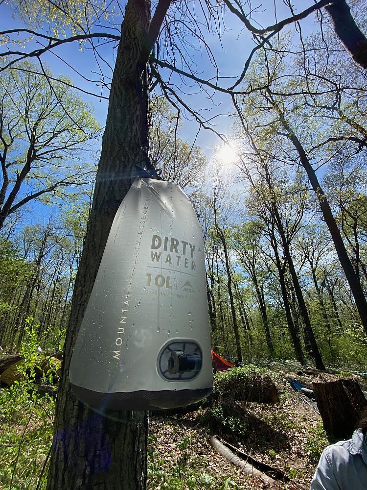 photo: MSR Guardian Gravity Purifier water purifier