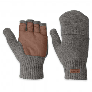 photo: Outdoor Research Lost Coast Fingerless Mitts fleece glove/mitten