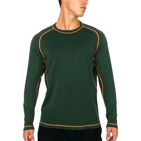 photo: Woolx Everyday Long Sleeve Crew 230 Midweight base layer top