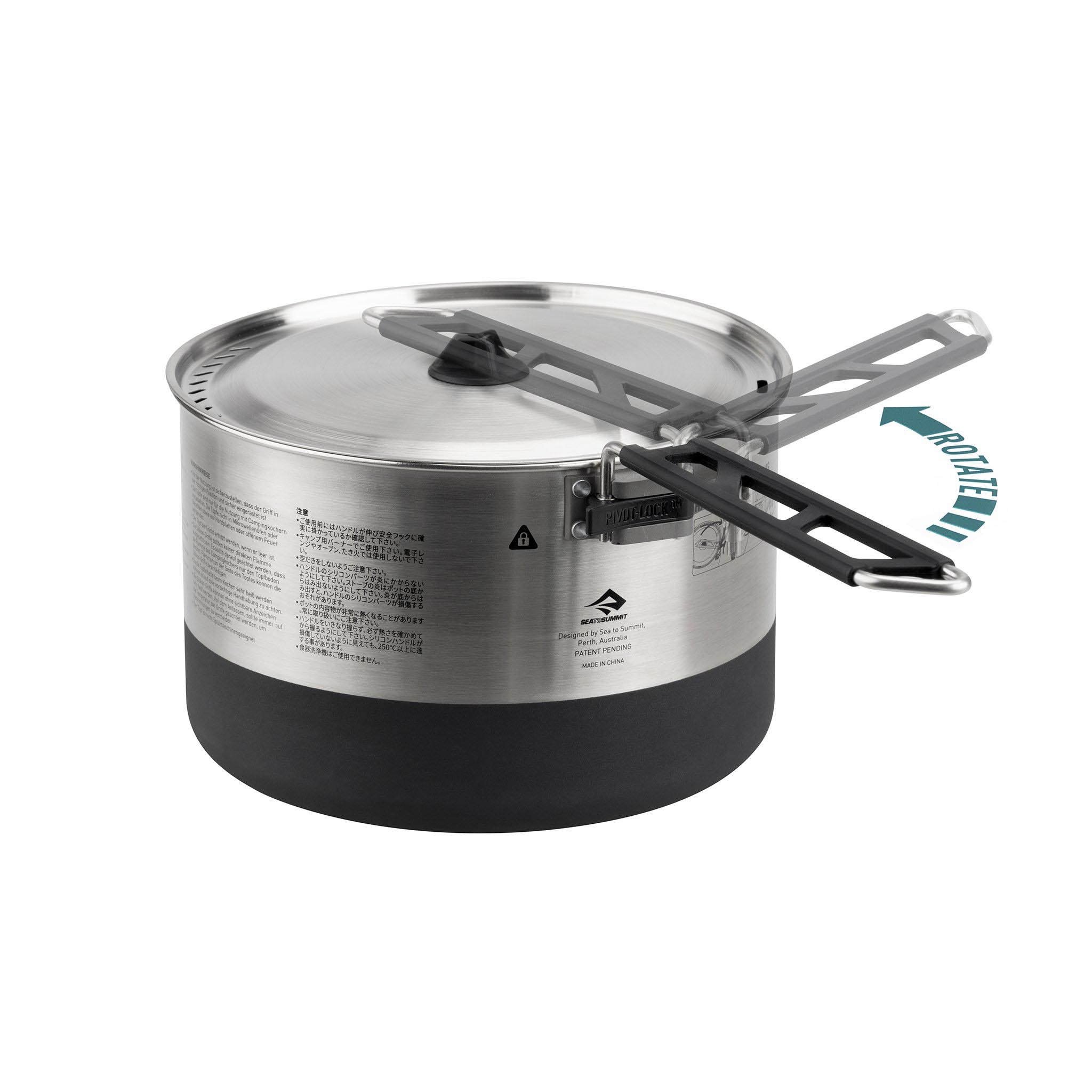 Sea to Summit Sigma Stainless Steel Pot