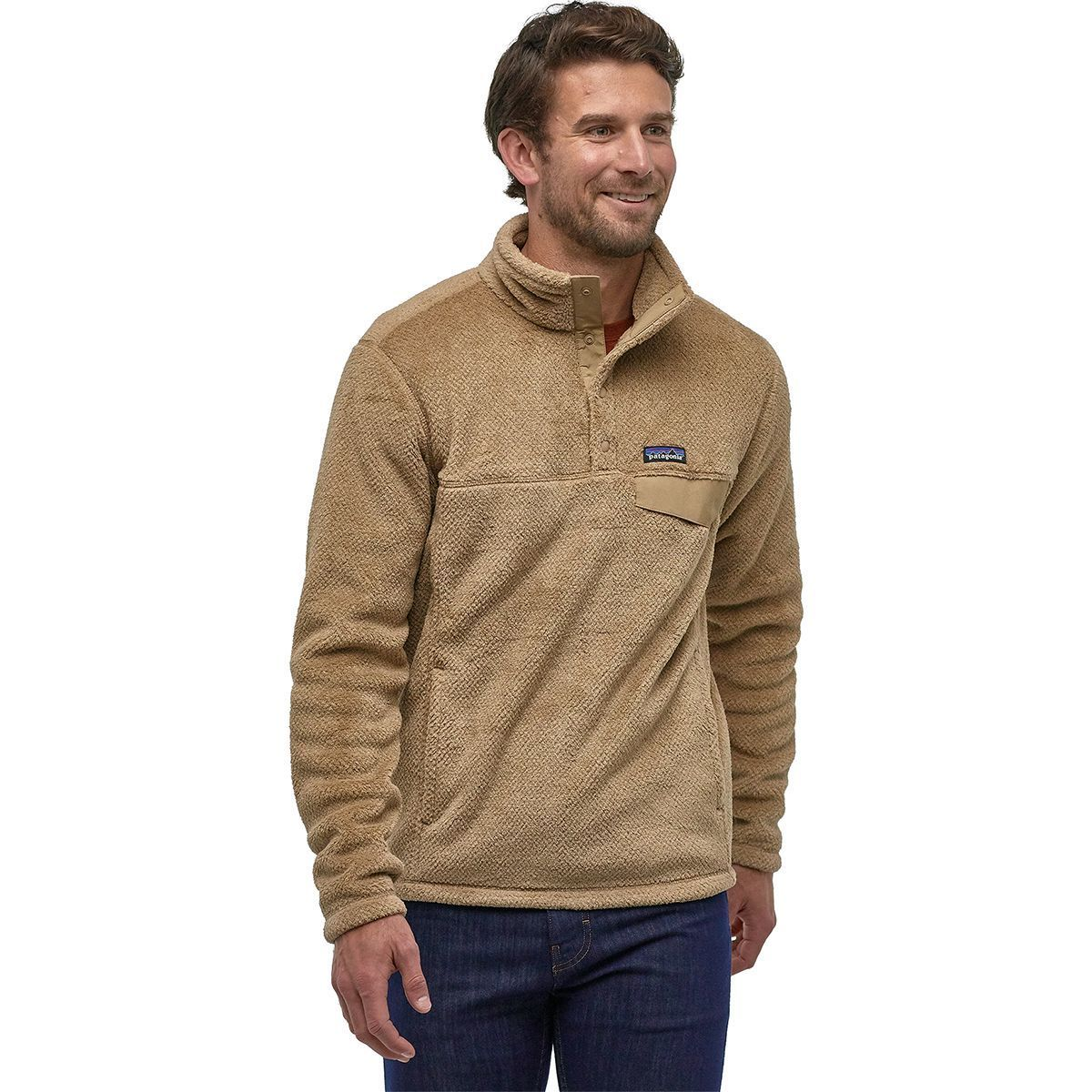 photo: Patagonia Men's Re-Tool Snap-T Pullover fleece top