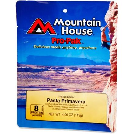 photo: Mountain House Pasta Primavera Pro-Pak vegetarian entrée