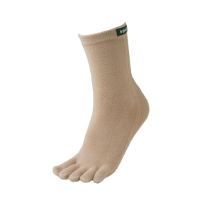 photo: Injinji Eco Series NuBamboo Crew Sock running sock