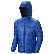 photo: Mountain Hardwear Men's Hooded Compressor Jacket synthetic insulated jacket