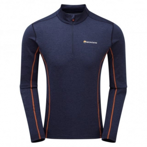 photo: Montane Dart Zip-Neck long sleeve performance top