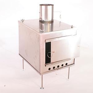 photo: Seek Outside Titanium Wood Stove - Medium solid fuel stove