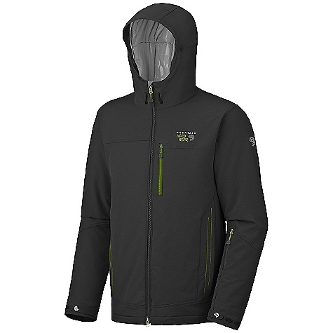 photo: Mountain Hardwear Cutaway Jacket snowsport jacket