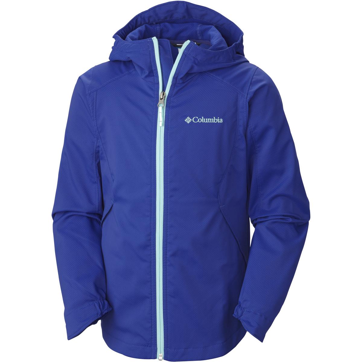 photo: Columbia Girls' Trail Trooper Rain Jacket waterproof jacket